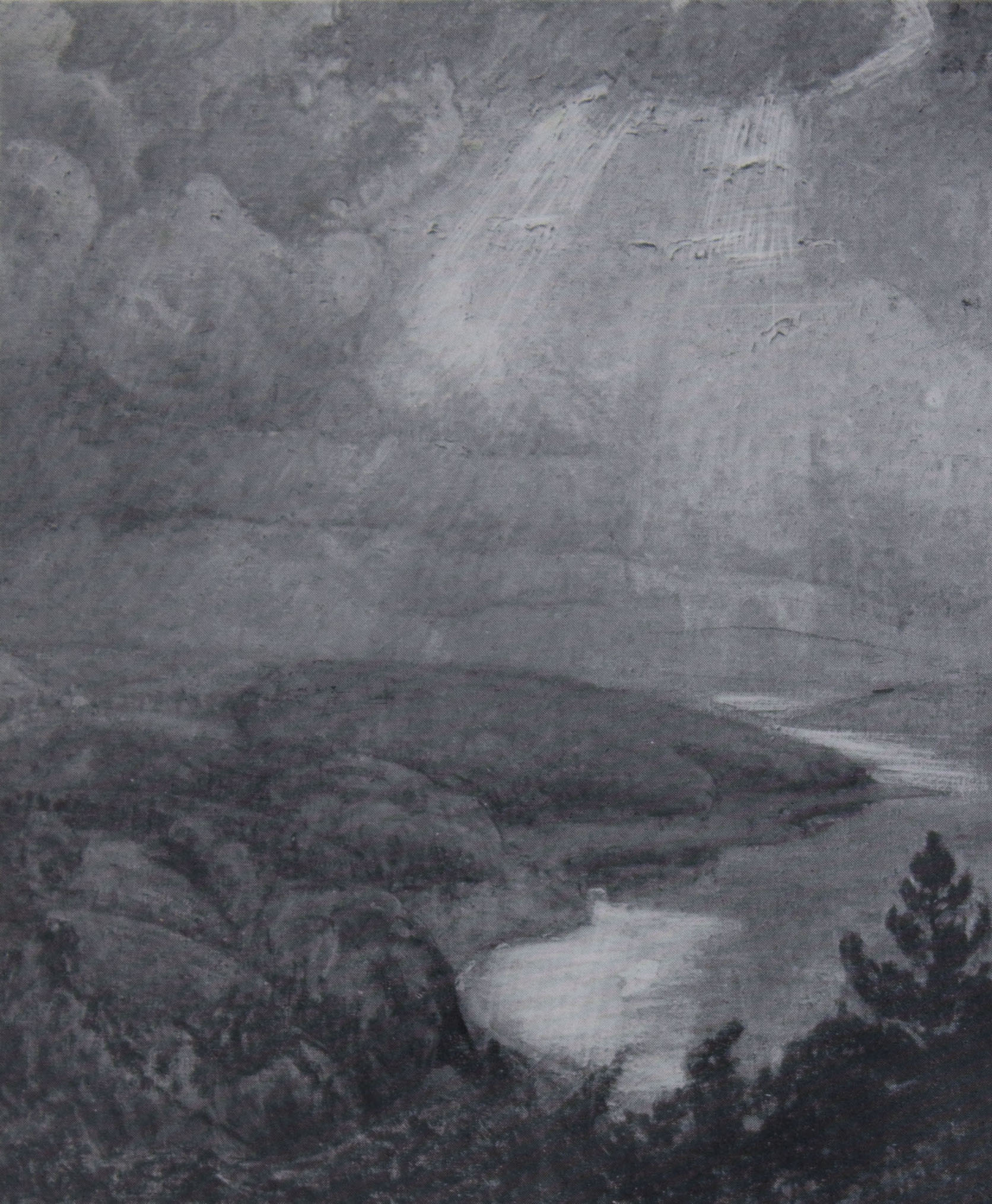 LANDSCAPE BY EINAR WEGENER                                 (ANDREAS SPARRE) IN HIS                                 SISTER'S POSSESSION