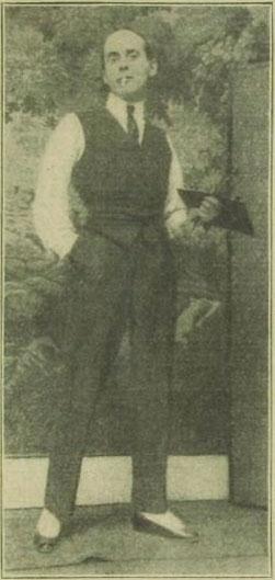 Einar                                         Wegener als Maler in Paris